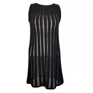 M by Missoni Sleeveless Ribbed Sweater Dress M